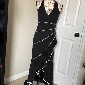 Niki Livas Black & White Dress Size 12